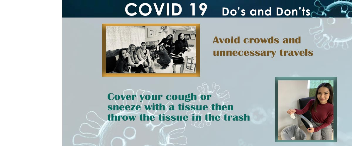 Do's and Don'ts for COVID